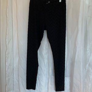 90 degrees patterned spandex leggings